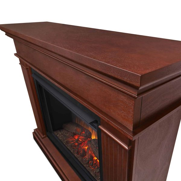 Kennedy Grand Electric Fireplace in Dark Espresso by Real Flame 3