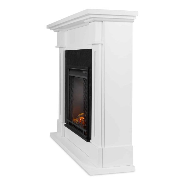 Kipling Electric Fireplace in White by Real Flame 3