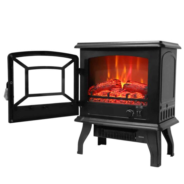 "Ktaxon 17"" Small Electric Fireplace"