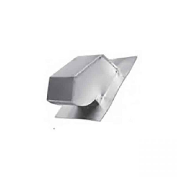 Lambro 145 5 in. Galvanized Roof Cap with Screen & Flange