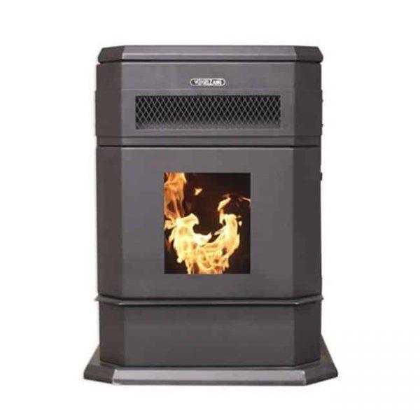 Large Hopper Pellet stove