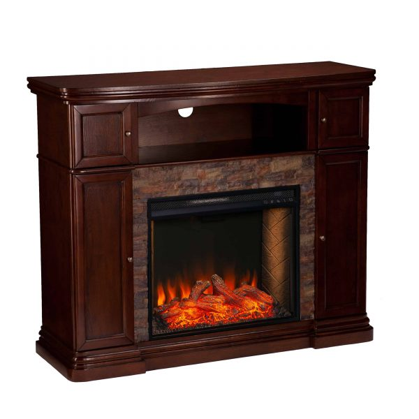 Lellermann Alexa Smart Fireplace Cabinet 1