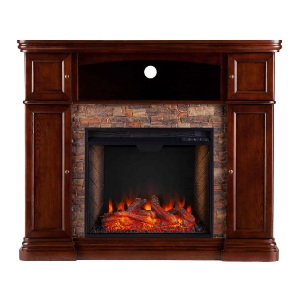 Lellermann Alexa Smart Fireplace Cabinet 2