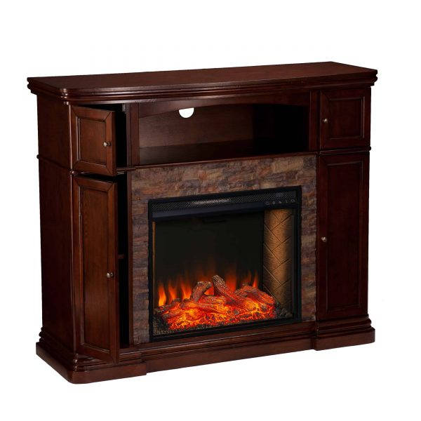 Lellermann Alexa Smart Fireplace Cabinet 4