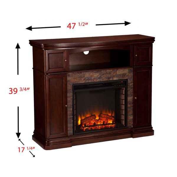 Lellermann Alexa Smart Fireplace Cabinet 6