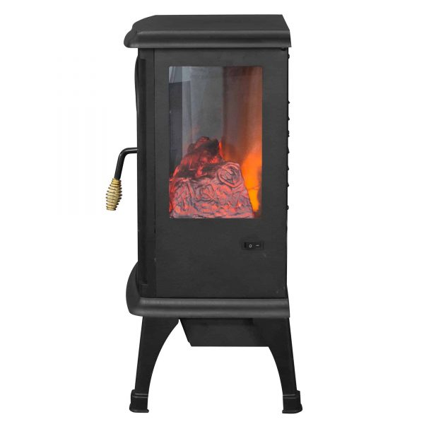LifeSmart 1500W Large Room 3-Sided Portable Electric Infrared Stove Space Heater 2