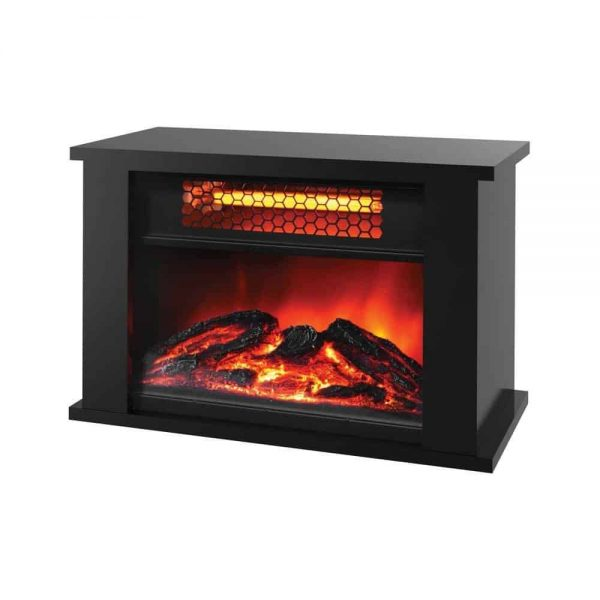 LifeSmart Products ZCFP1017US 750W Mini Fireplace Heater