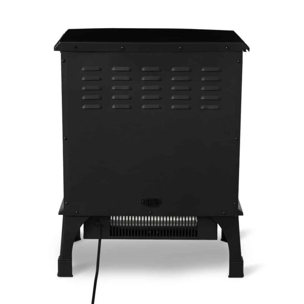 Limina Indoor Electric 1500W Stove Fireplace Infrared Quartz Space Heater, Black 3