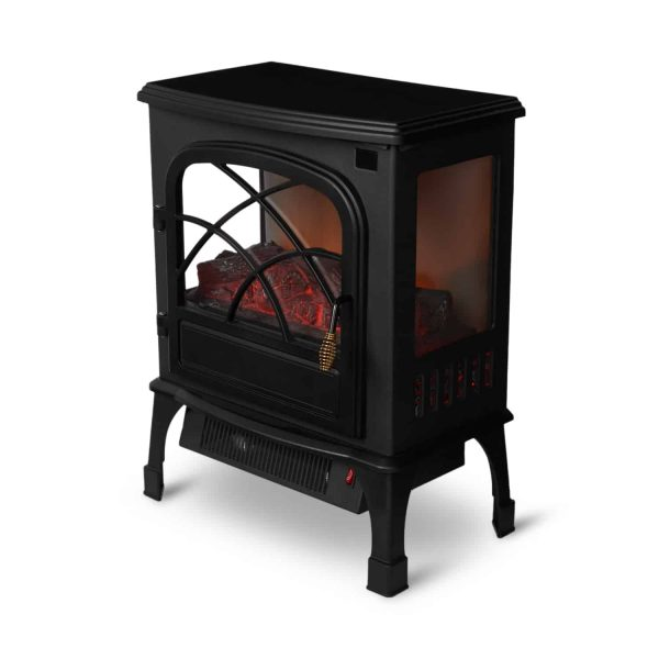 Limina Indoor Electric 1500W Stove Fireplace Infrared Quartz Space Heater