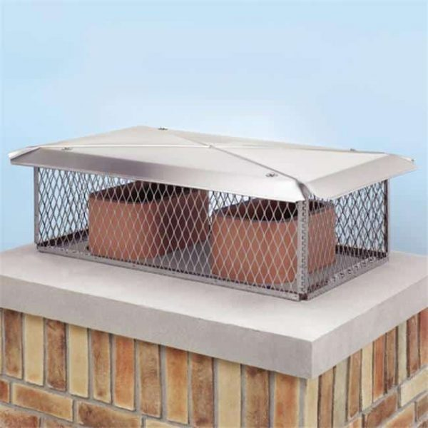 Lindemann 100844 14 Inches x 14 Inches Chimney Protector