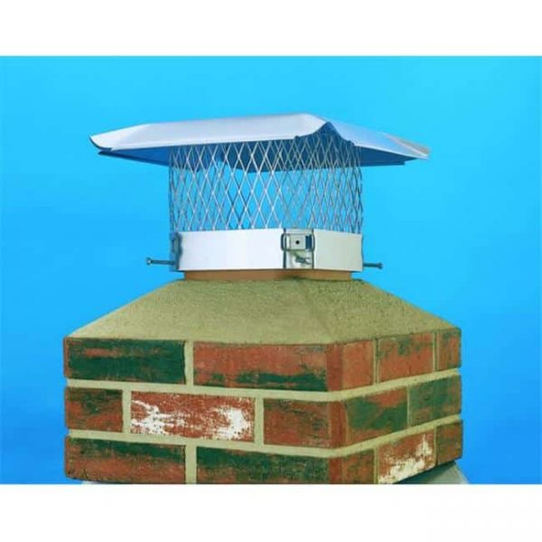 Lindemann 150133 Hy-C 13x13 HY-C S.S. Chimney Cover