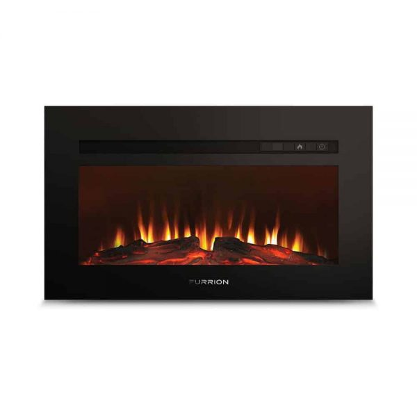 """Lippert 672486 Built-In Electric Fireplace with Wood Platform - 34"""""""