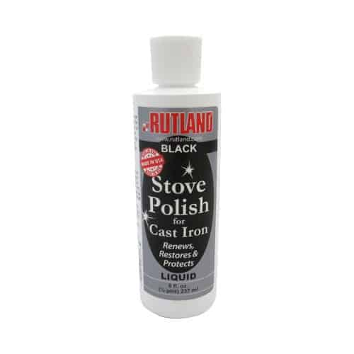Liquid Stove & Grill Polish for Cast Iron & Steel Stoves - 8 Fl Oz Bottle