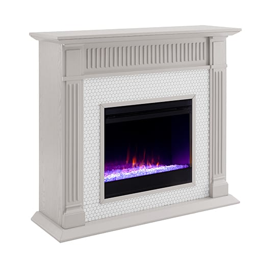 Livingvale Tiled Color Changing Fireplace by Ember Interiors 1