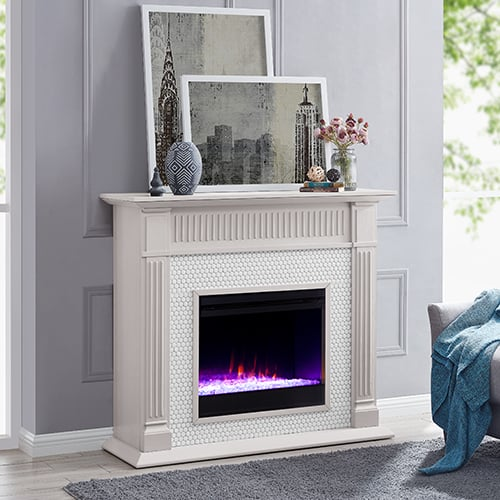 Livingvale Tiled Color Changing Fireplace by Ember Interiors 15