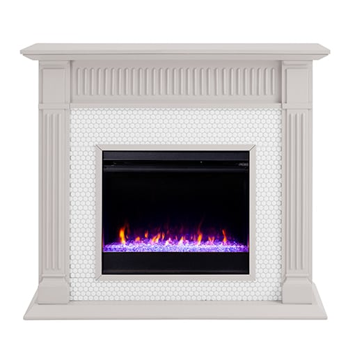 Livingvale Tiled Color Changing Fireplace by Ember Interiors 4