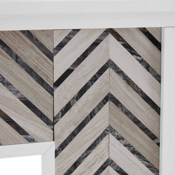 Lynfords Tiled Marble Color Changing Fireplace by Ember Interiors 3