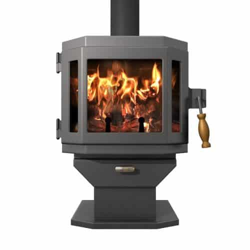 MF Fire Charcoal Catalyst Wood Stove with Room Blower Fan