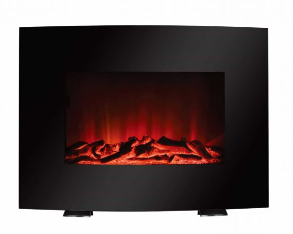 Mainstays Freestanding or Wall Mounted Electric Fireplace Heater