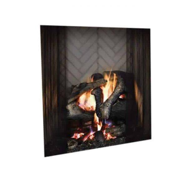 """Majestic ASH42 42"""" Ashland Radiant Wood Burning Fireplace"""