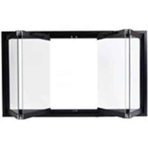 Majestic DM8042 Black Bi-Fold Glass Doors For Majestic Sb80 Fireplace 1