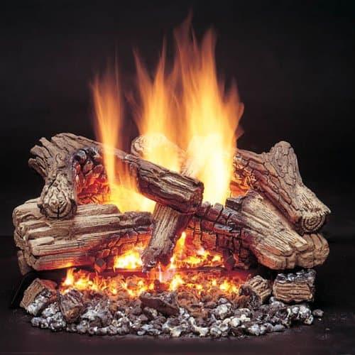Majestic Duzy 3 Vented Gas Log Set