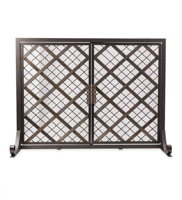 McCormick Celtic Design Small Fireplace Fire Screen