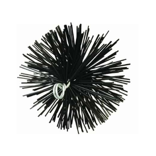 Meeco 33140 6 in. Round Poly Chimney Brush 1