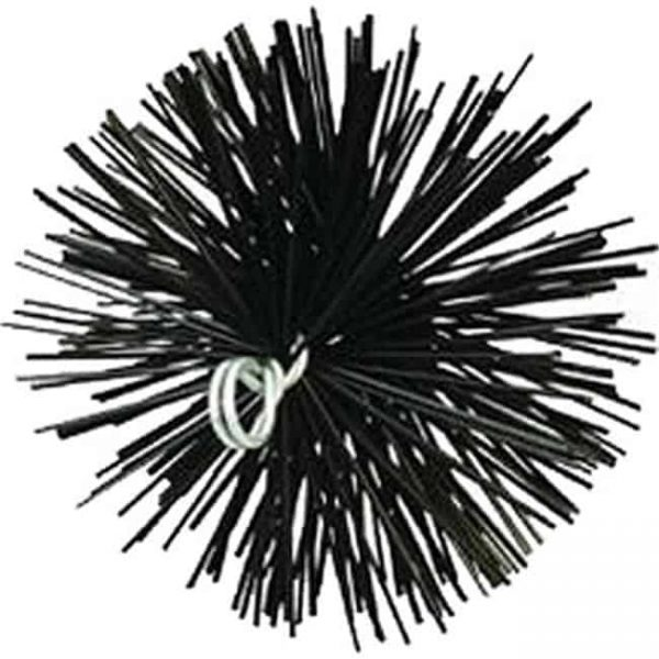 Meeco 33140 6 in. Round Poly Chimney Brush