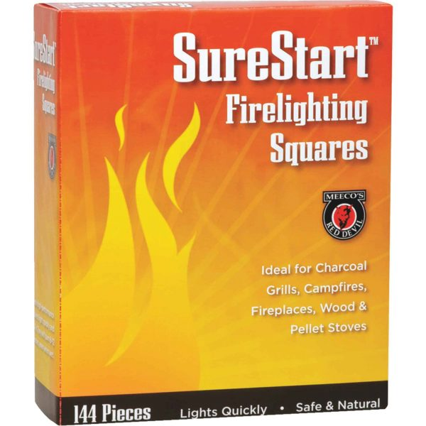 Meeco's Red Devil Fire Starter Squares