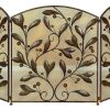 Metal Fire Screen A Decorative Protection 2