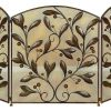 Metal Fire Screen A Decorative Protection