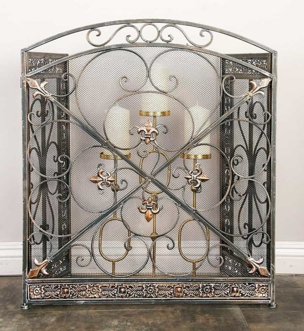 Metal Fire Screen Fashion For Partition 2