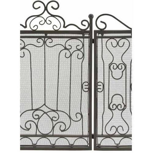 Metal Fire Screen For Complete Safety At Fire Place 1