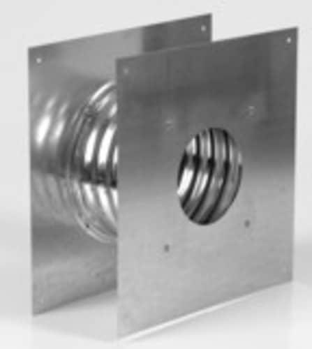 "Metalbest 3VP-WT Galvanized Vp 3"" Type L Pellet Pipe Wall Thimble"
