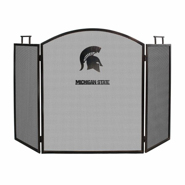 Michigan State Spartans Imperial Fireplace Screen - Brown