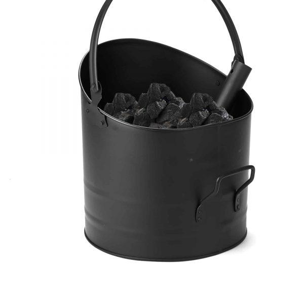 Mind Reader Large Fire Place Ash Bucket