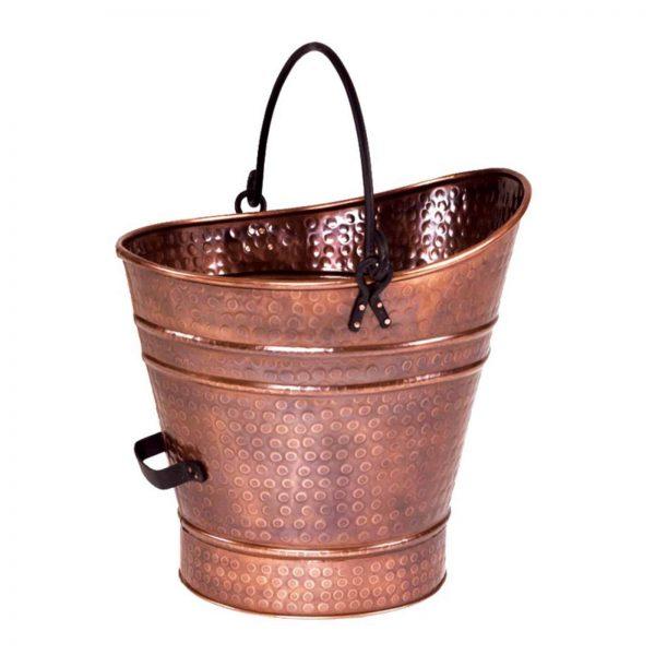 Minuteman International Copper Coal Hod/Pellet Bucket