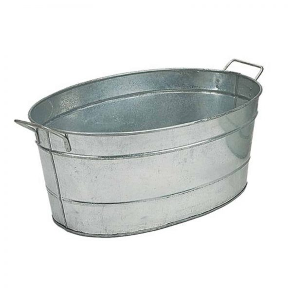 Minuteman International Galvanized Steel Hot Coal Tub