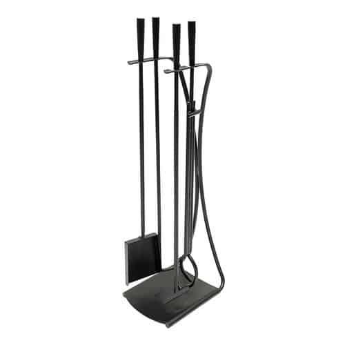 Minuteman International Park Avenue 5 Piece Iron Fireplace Tool Set