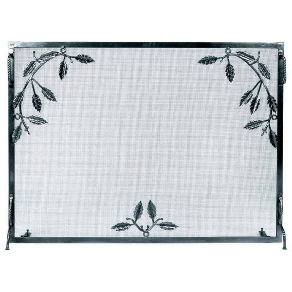 Minuteman International Single Panel Weston Fireplace Screen 1