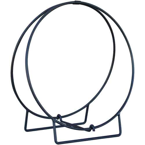 Minuteman International Wrought Iron Wood Hoop 2