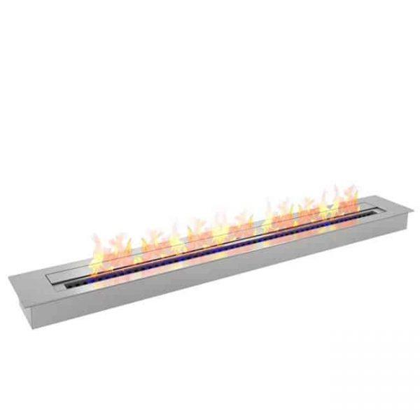 Moda Flame EBP4047-MF 47 in. 9.9 Litre Pro Bio Ethanol Fireplace Burner Insert