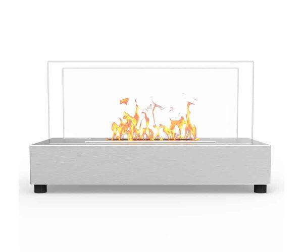 Moda Flame ET7010SS-MF Vigo Ventless Tabletop Portable Bio Ethanol Fireplace in Stainless Steel 3