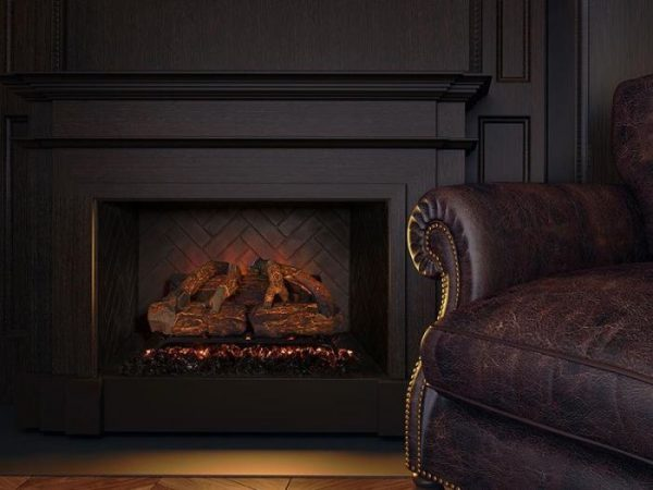 "Modern Flames 26"" Sunset Charred Oak Electric Log Set"