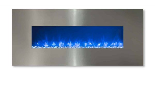 Modern Flames CLX-2 Series Electric Fireplace with Stainless Steel Front