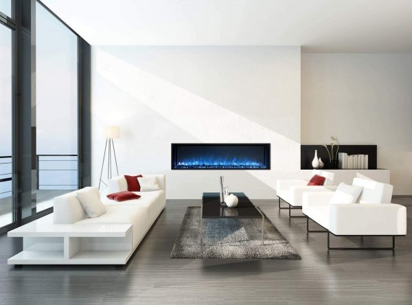 """Modern Flames Landscape Fullview 2 Series Electric Fireplace, 100"""" 3"""