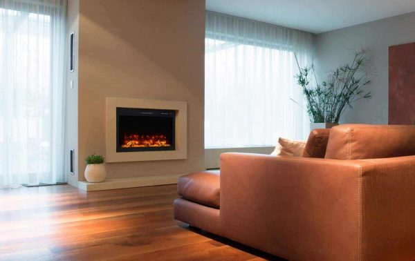 Modern Flames SC36-B 36 in. Spectrum Conventional Electric Fireplace, Slide-In & Flush Mount 1
