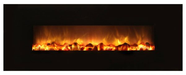 """Modern Flames SF40/BILV Builder No Heat 40"""" Wide Built-In Vent Free Electric Fireplace"""