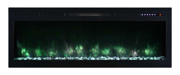 "Modern Flames SL50-B Spectrum 5000 BTU 50"" Wide Built-In Vent Free Electric Fireplace 4"